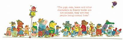 Characters Richard Scarry Scroll