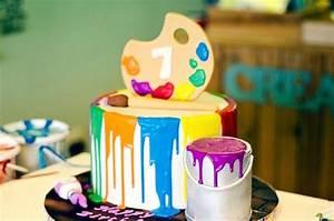 Kara's Party Ideas Rainbow Art + Painting Party Kara's