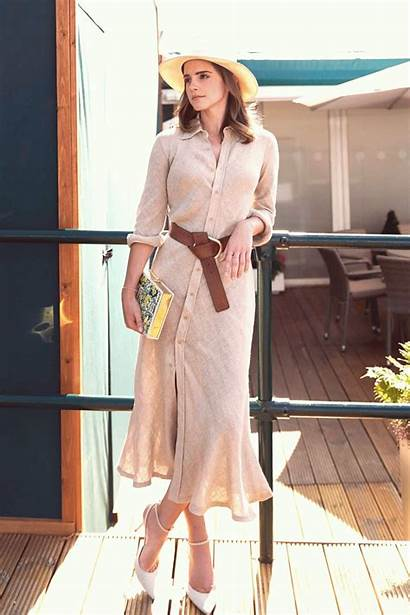 Watson Emma Actress Hollywood Vogue Turning Outfits