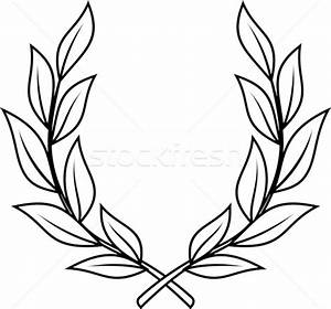 laurel wreath vector illustration c mr vector 533703 With laurel leaf crown template
