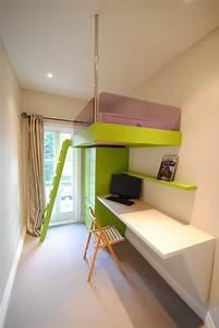 Kleines Kinderzimmer Gestalten : kleines kinderzimmer attraktiv und rationell gestalten ~ Watch28wear.com Haus und Dekorationen