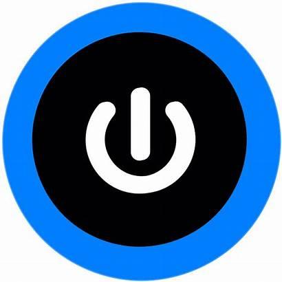 Button Power Computer Symbol Clipart Sign Vector