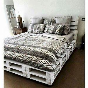 50, Creative, Recycled, Diy, Projects, Pallet, Beds, Design, Ideas, 47