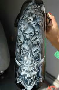 Skull Paint Jobs On Motorcycles