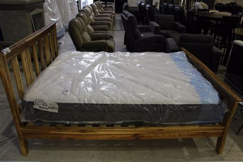 Queen Size Headboard Footboard And Rails