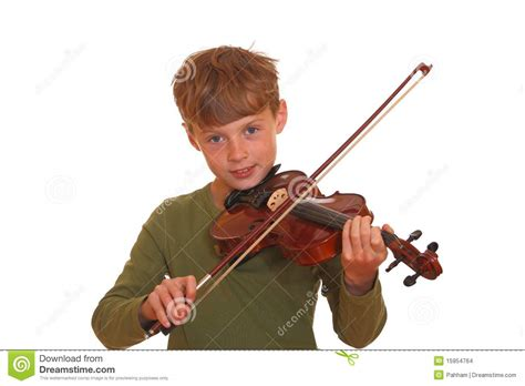 marbro l boy with violin boy with violin stock images image 15954764