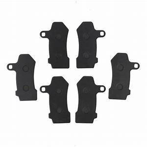 Front Rear Brake Pads Fit For Harley Flhtcu Ultra Classic Electra Glide 08