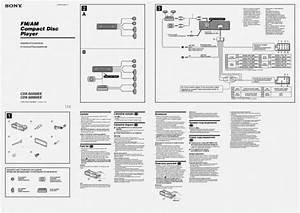 Sony Cdx Gt180 Wiring Diagram