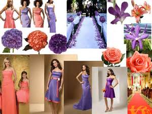 flower delivery nyc coral and purple pantone wedding styleboard the dessy