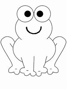 Simple Animal Coloring Pages | Frogs 19 Animals Coloring ...