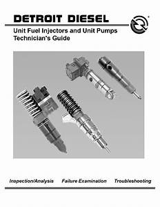 Detroit Diesel Unit Fuel Injectors And Unit Pumps