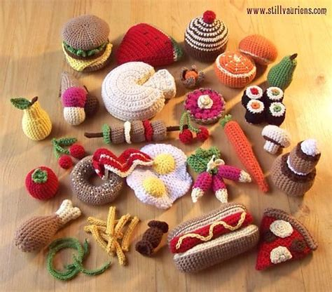 crochet cuisine free crochet play food pattern amigurumi
