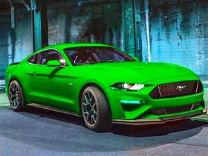 Lime Green Mustang 2018 | Convertible Cars