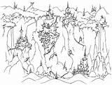 Coloring Castle Frozen Pages Cliffs Elsa Spooky Cliff Printable Castles Print Mineral Realistic Horse Rock Christmas Alphabet Template Clip Books sketch template