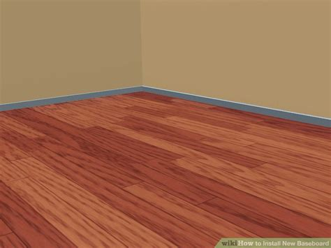 How to Install New Baseboard 4 Steps (with Pictures
