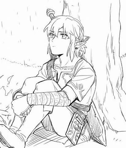 Zelda Ausmalbilder Zum Coloring Link Legend Ausmalen