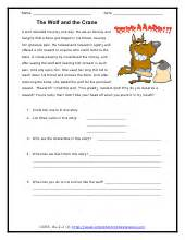 understanding the moral of the story worksheets