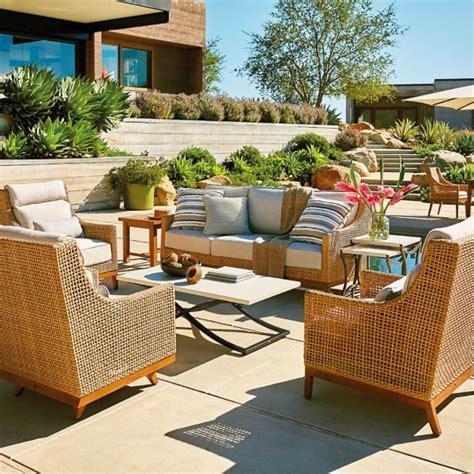 summer classics peninsula sofa  raffia  sandalwood