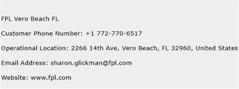 fpl phone number fpl vero fl customer service phone number toll