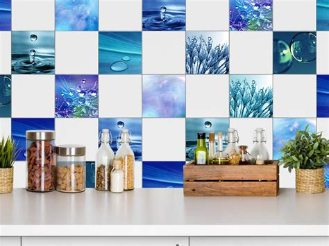 Esszimmer Le Tropfen by Fliesenaufkleber Fliesenbild 10 Motive Wasser Tropfen