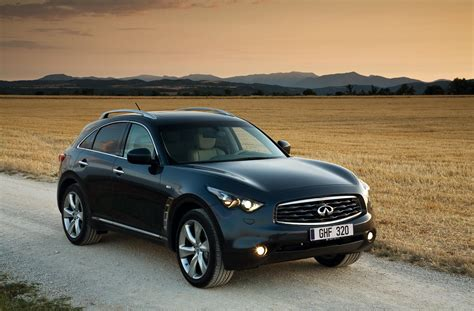 infiniti fx estate review 2009 parkers