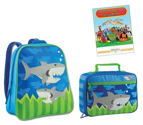 stephen joseph gogo go backpack lunch box set toddler 618 | 821491058 o