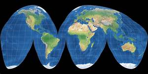 Goode Homolosine: Compare Map Projections