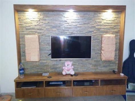 tv unit stone cladding domlur bengaluru