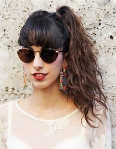 Coiffure Queue De Cheval : la queue de cheval wavy street style coiffure la queue ~ Melissatoandfro.com Idées de Décoration