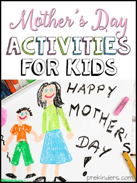mothers day preschool mother s day activities for kids prekinders