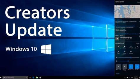 what s new in cumulative update kb4284830 for windows 10 creators update windows mode