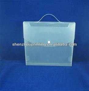 hard plastic clear folder with handle buy clear folder With hard plastic document folder
