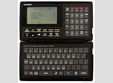 SF4500 Casio PDA