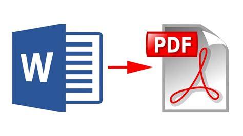 How To Convert Microsoft Word Documents To Pdf  Tech Advisor