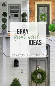 3, Gorgeous, Grey, Front, Door, Ideas, For, Your, Porch