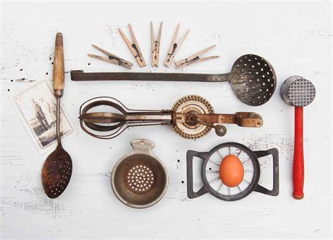 Vintage Country Kitchen Tools Instant Collection