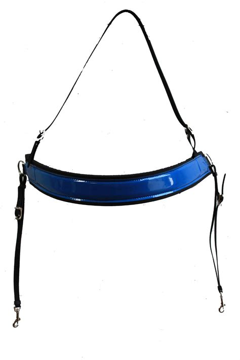 racing tack breastplate training colour