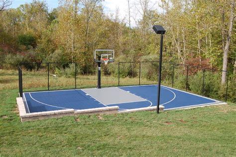 outdoor basketball court lighting outdoor half court basketball