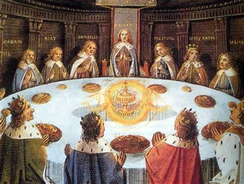 ã e i cavalieri della tavola rotonda natale nel segno graal