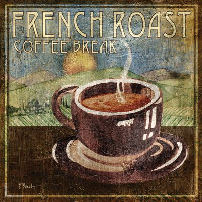 Firehouse believes coffee is as much an art as it is a science. Artwork for Kitchen at Art.com   French roast, Coffee art ...