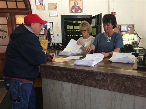 Petitioners Turn In Signatures Seeking Recall Election For