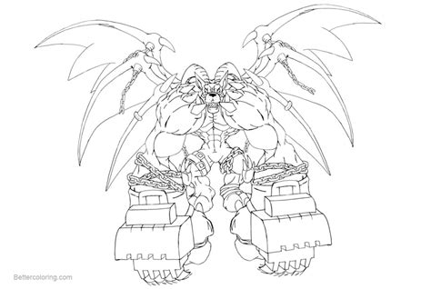 Digimon Coloring Pages Belphemon By Neoarchangemon