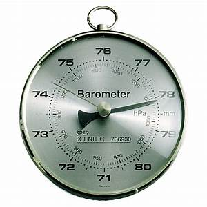 What does a barometer measure units in? | Yahoo Answers