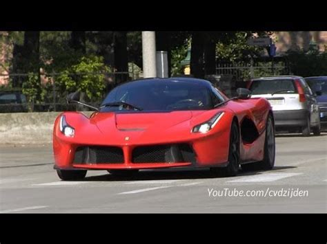 ferrari laferrari   road sound youtube