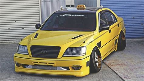 stanced toyota stanced toyota crown athlete is a taxi toyota