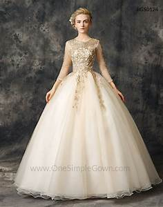 Champagne gold gown best seller dress and gown review for Champagne gold wedding dress