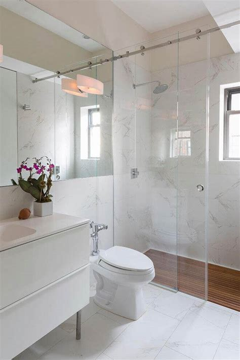 glass shower enclosure  small bathroom remodeling cost