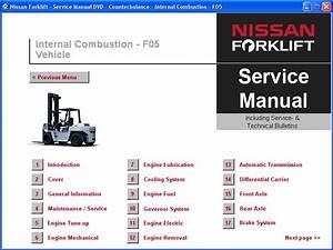 Bienvenidos Mecanicosdz  Software Nissan Forklif Servicio
