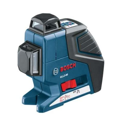bosch laser level bosch gll2 80 dual plane leveling and alignment laser gll2 80 toolbarn com