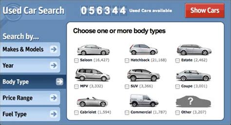 Compare Rental Car Sizes And Classes